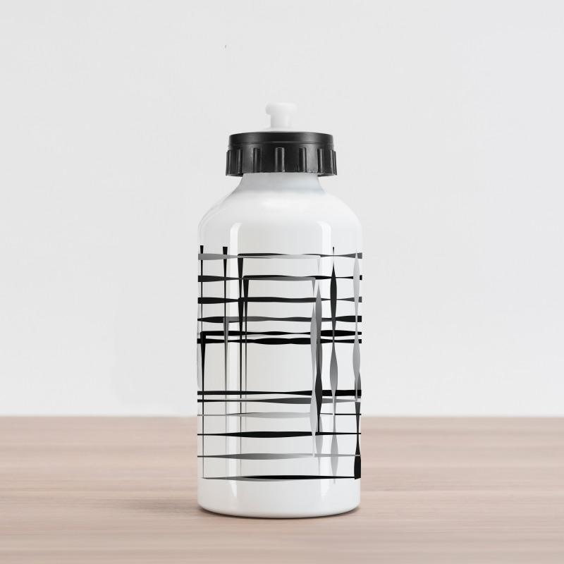 Abstract Art Geometric Aluminum Water Bottle