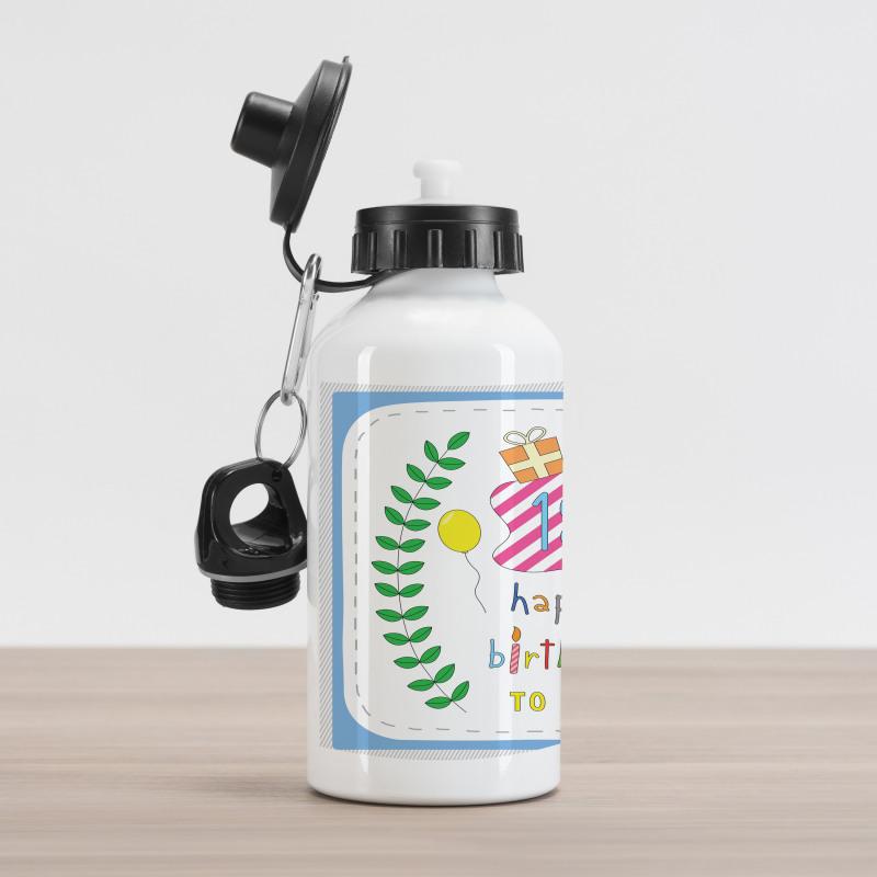 18 Birthday Aluminum Water Bottle