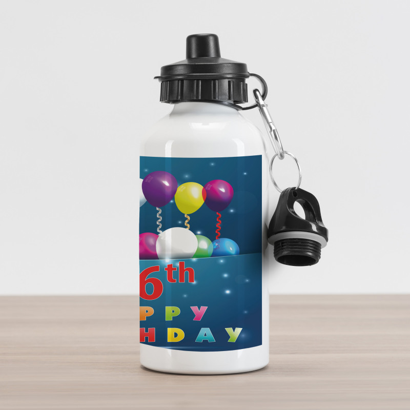 16 Party Aluminum Water Bottle