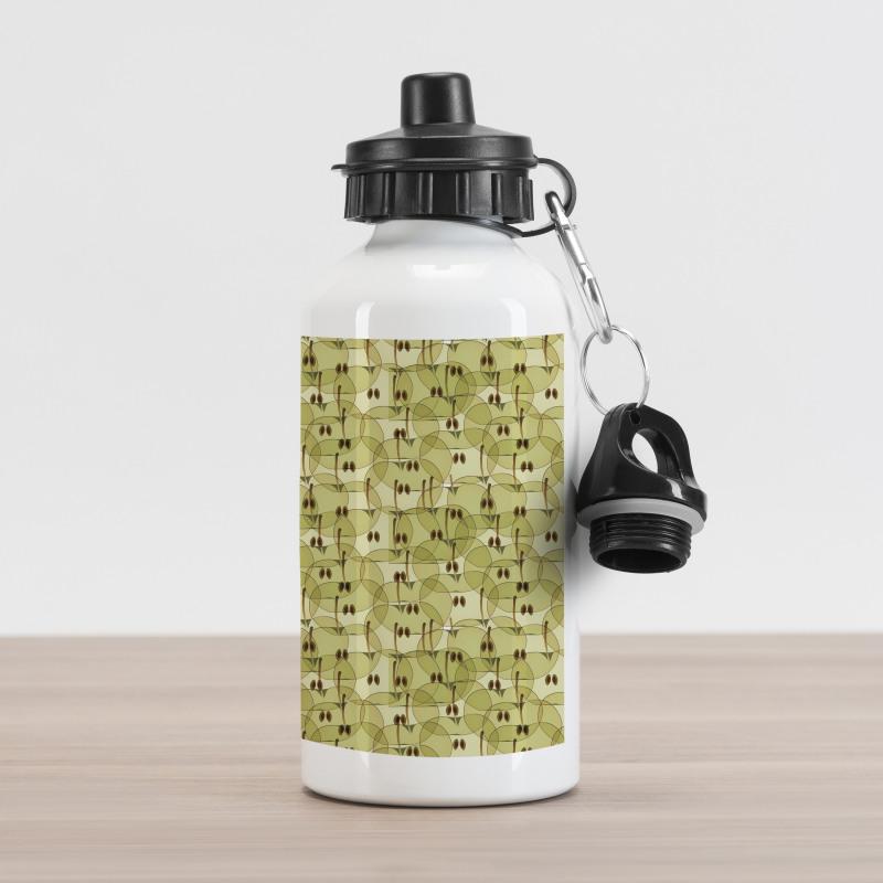 Abstract Autumn Garden Aluminum Water Bottle