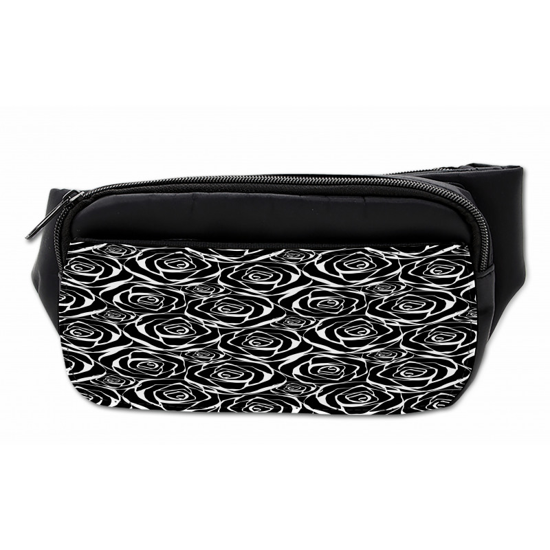 Abstract Art Rose Flowers Bumbag