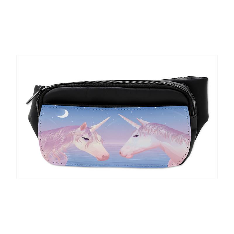 2 Akhal Teke Unicorns Bumbag