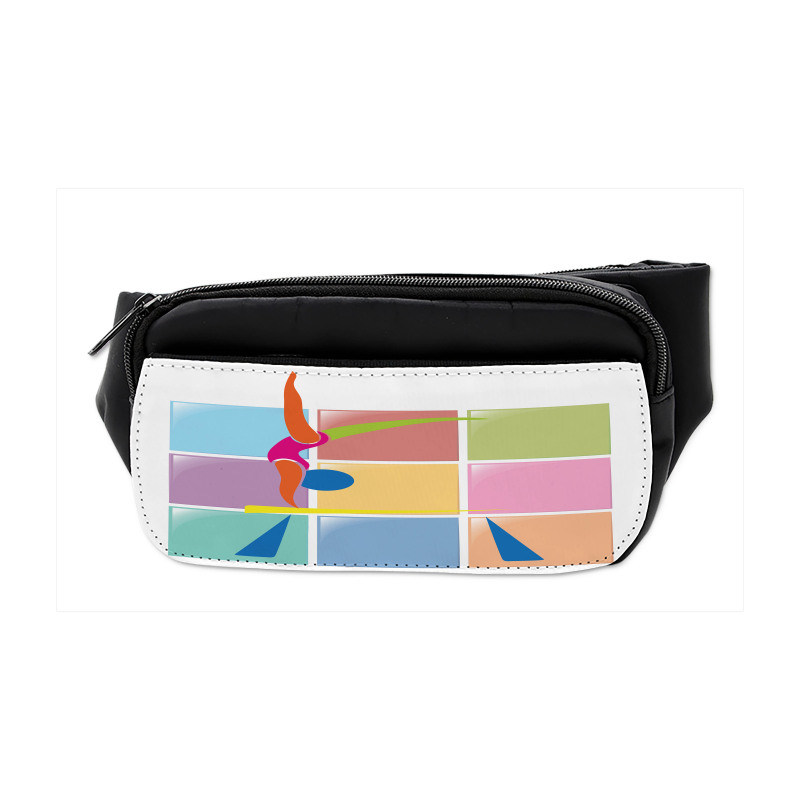 Abstract Athlete Bumbag