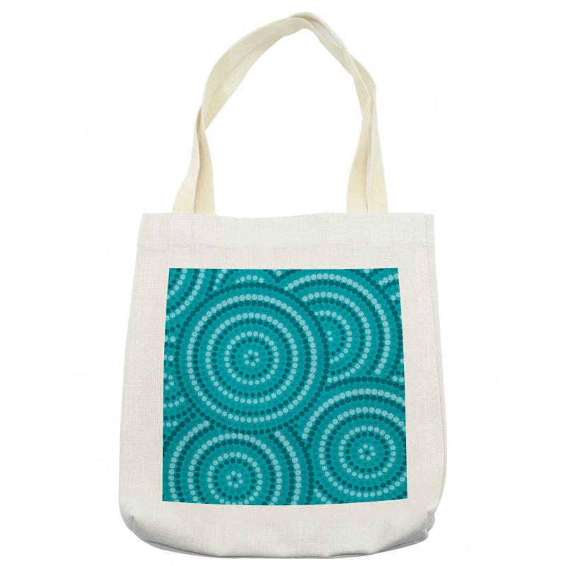 Abstract Australian Dots Tote Bag