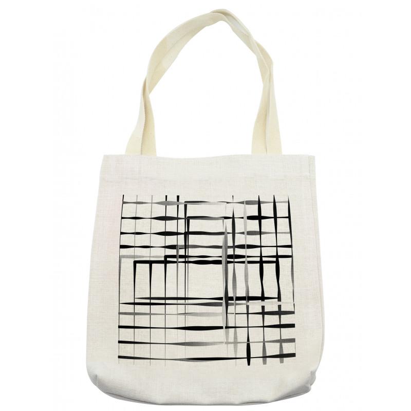 Abstract Art Geometric Tote Bag