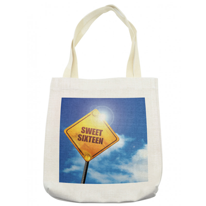 16 Road Tote Bag
