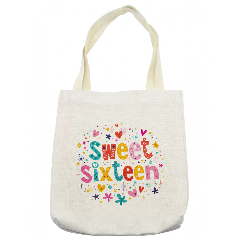 16 Blossoms Tote Bag