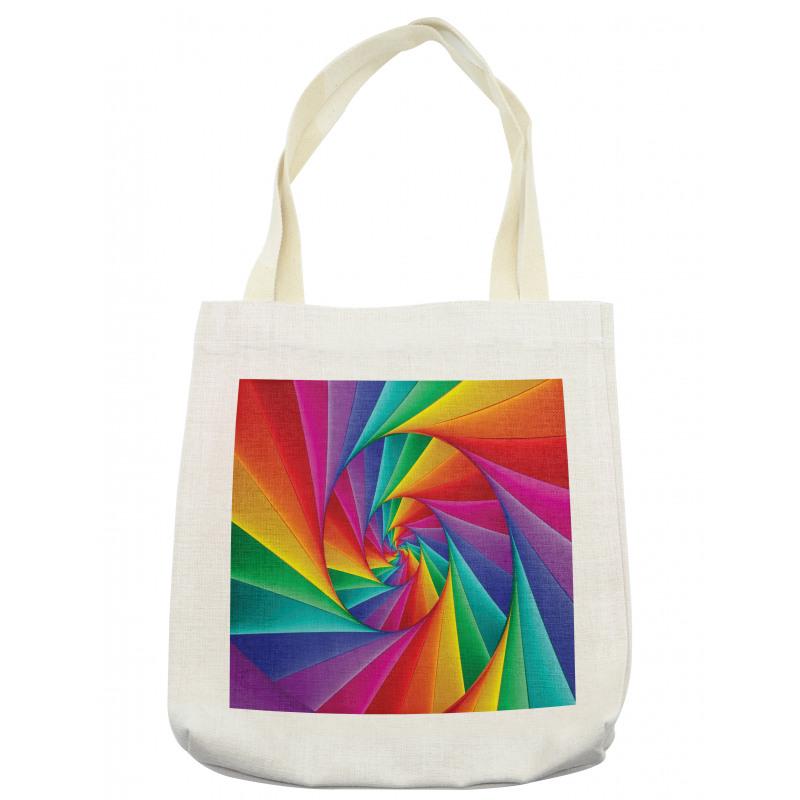 Abstract Art Vivid Swirl Tote Bag
