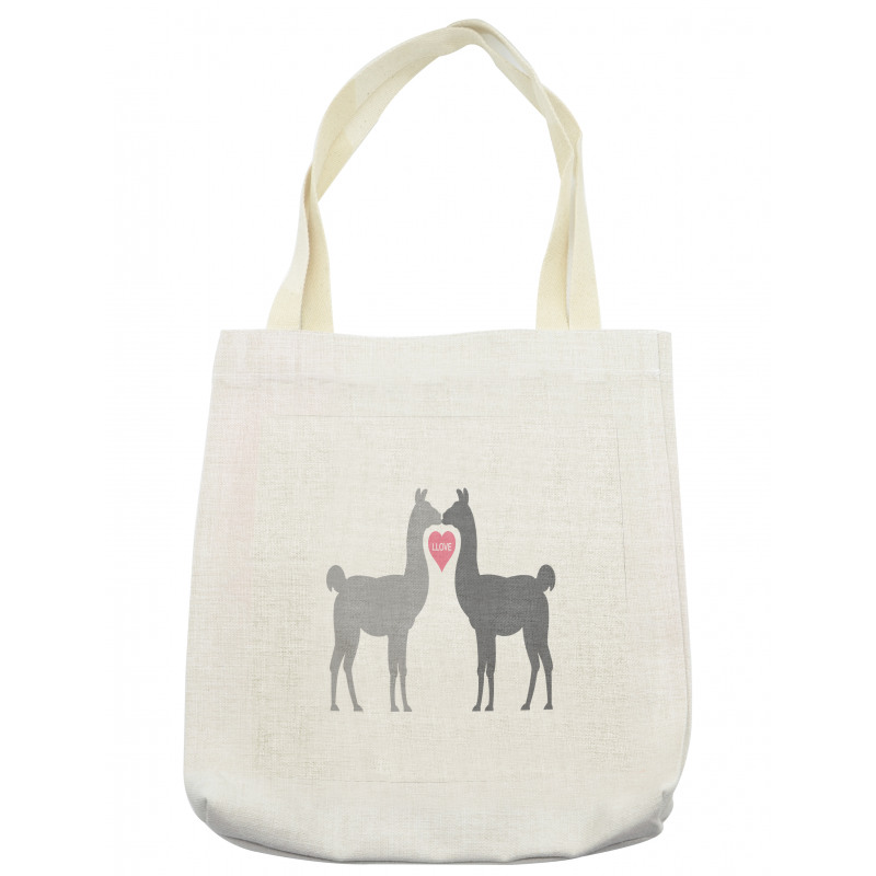 2 Animals in Love Tote Bag