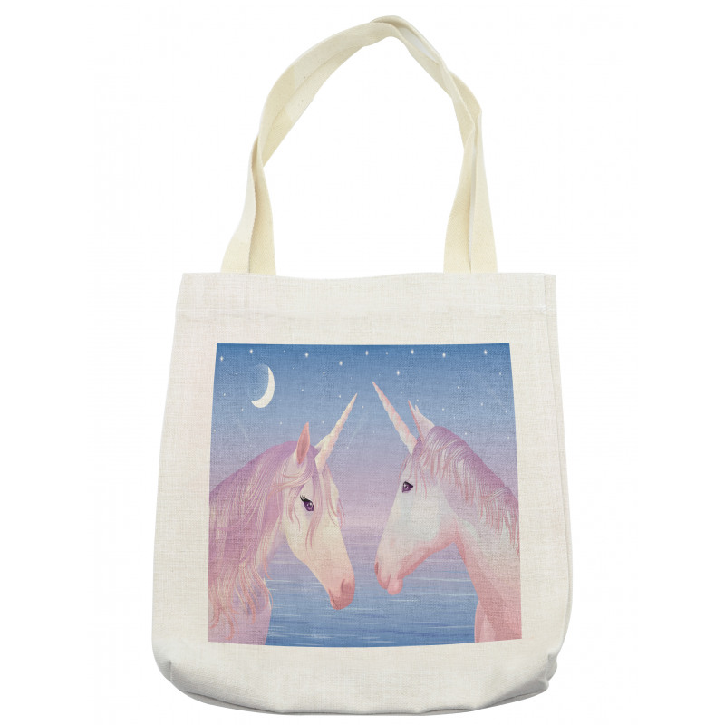 2 Akhal Teke Unicorns Tote Bag
