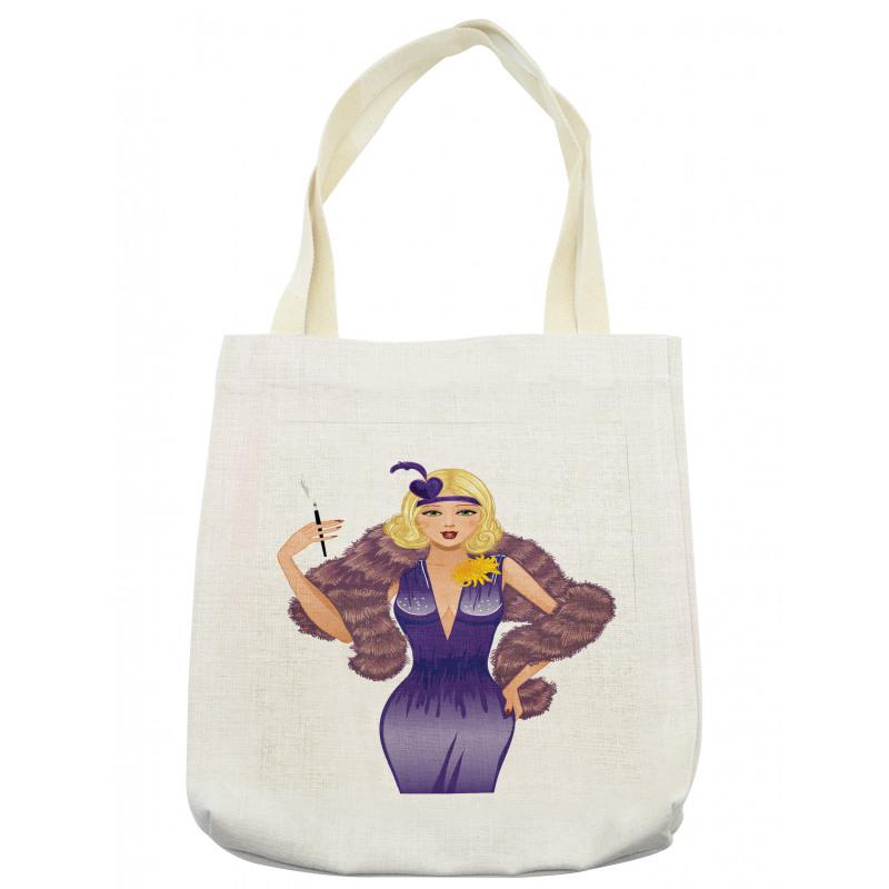 1930s Style Blondie Tote Bag