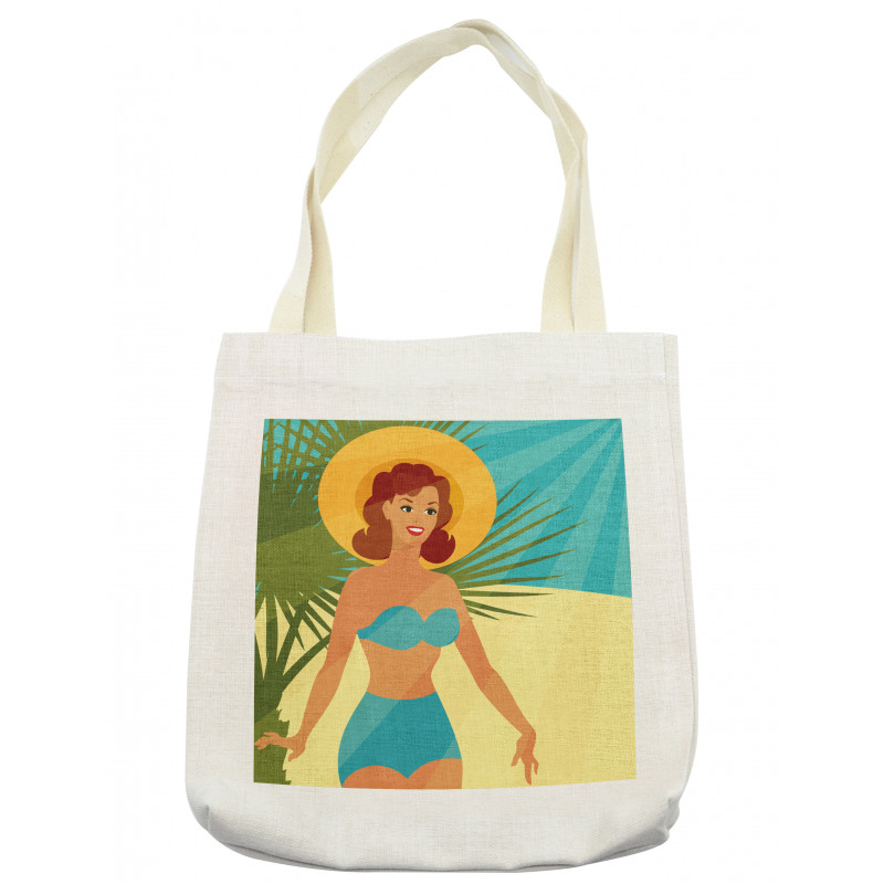 1950s Style Bikini Tote Bag