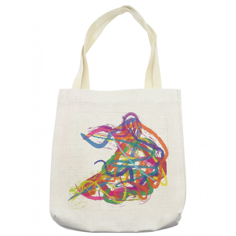 Abstract Art Dancer Tote Bag