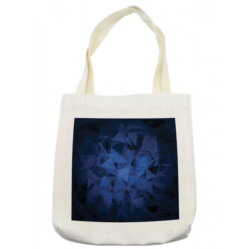 Abstract Atomic Stars Tote Bag