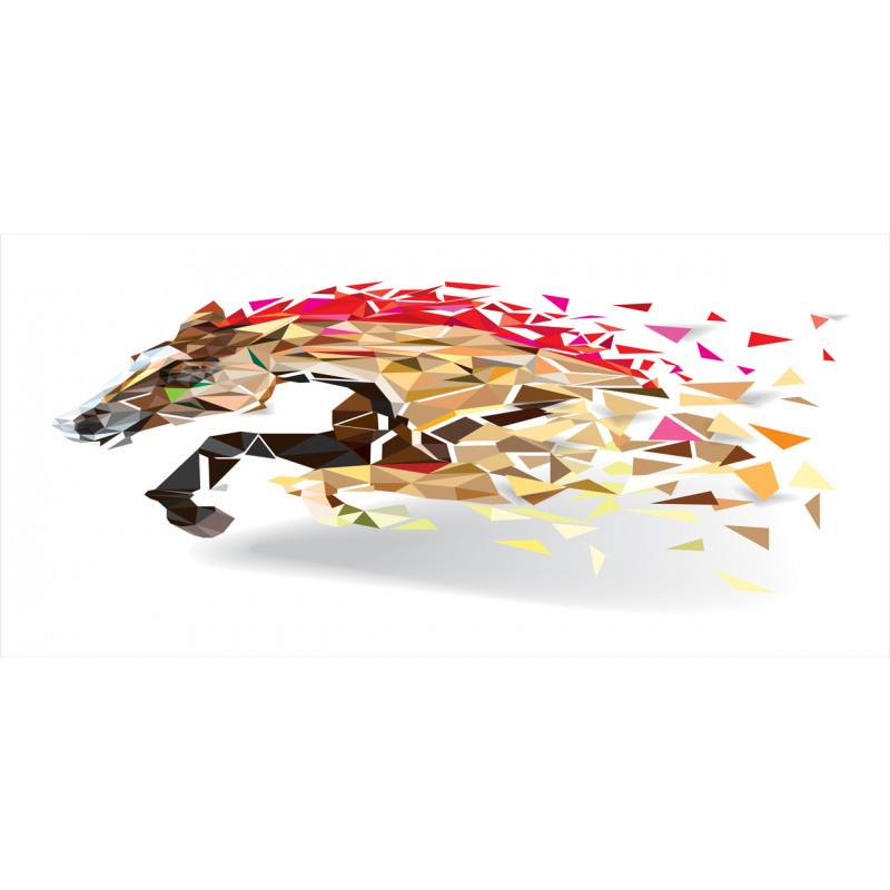 Abstract Art Wild Horse Piggy Bank