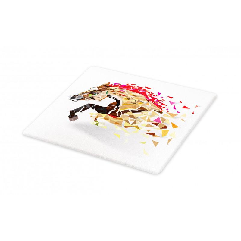 Abstract Art Wild Horse Cutting Board