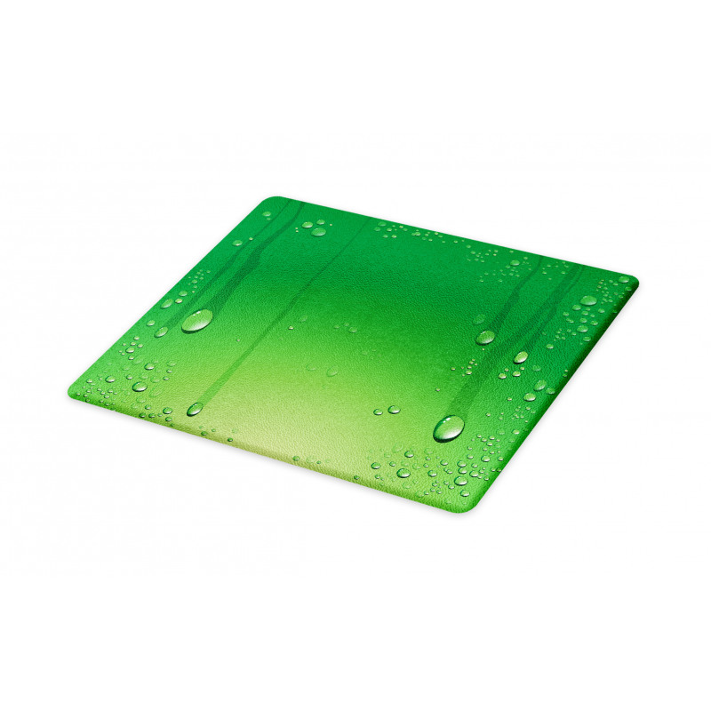 Abstract Art Water Drops Cutting Board