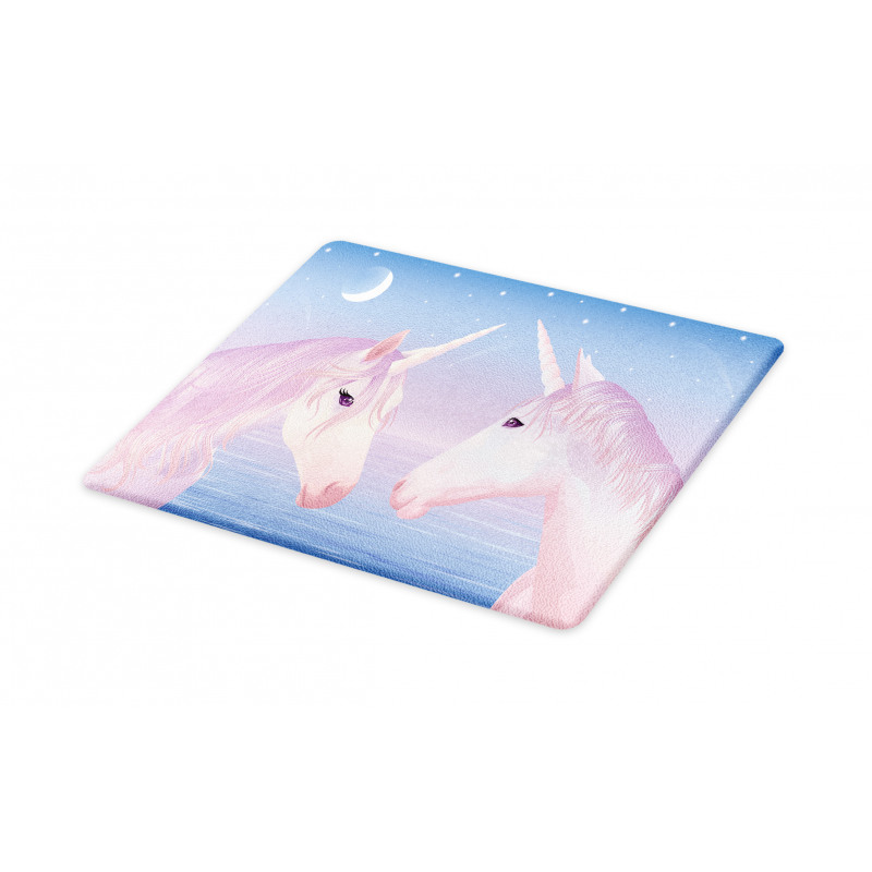 2 Akhal Teke Unicorns Cutting Board