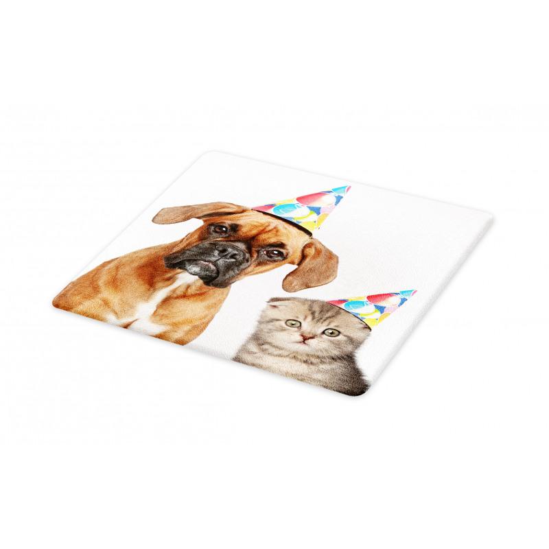 Funny Dog Scottish Cat Cutting Board