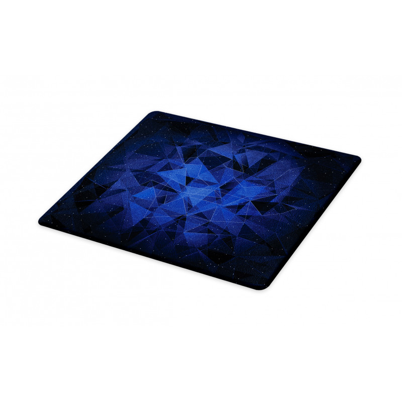Abstract Atomic Stars Cutting Board