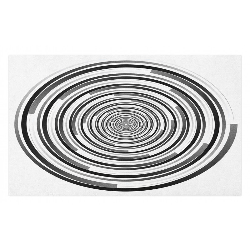 Abstract Art Spirals Doormat