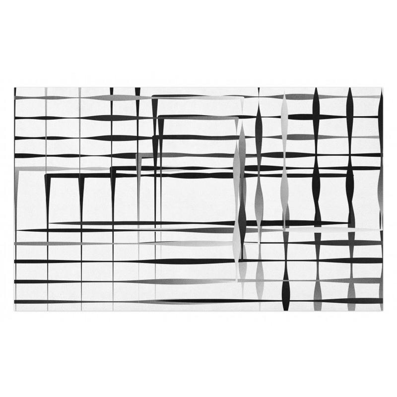Abstract Art Geometric Doormat