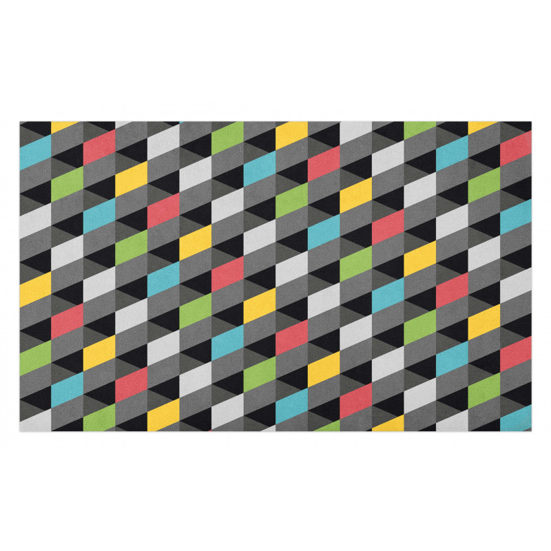 Abstract Art Style Doormat