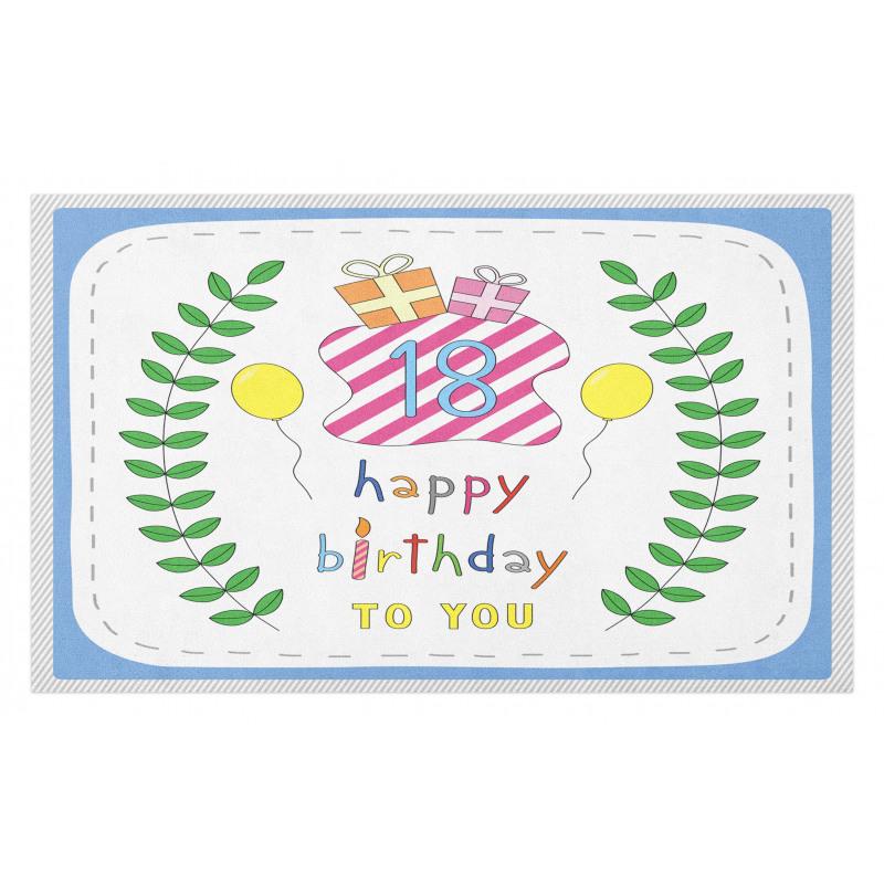 18 Birthday Doormat
