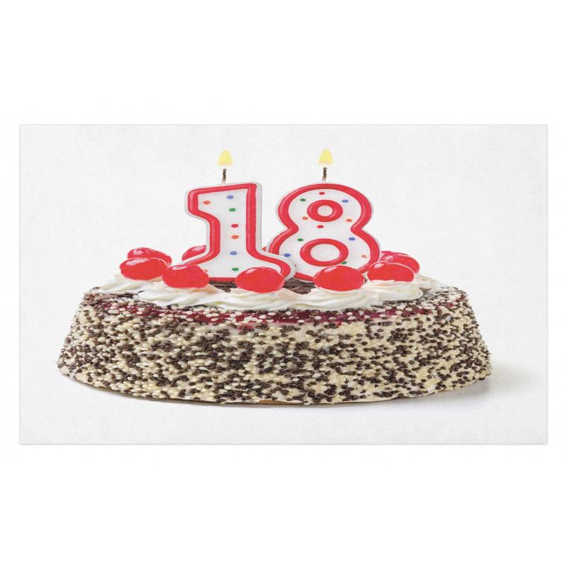 18 Party Doormat