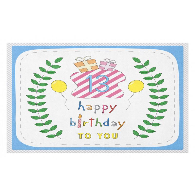 13th Birthday Gifts Doormat