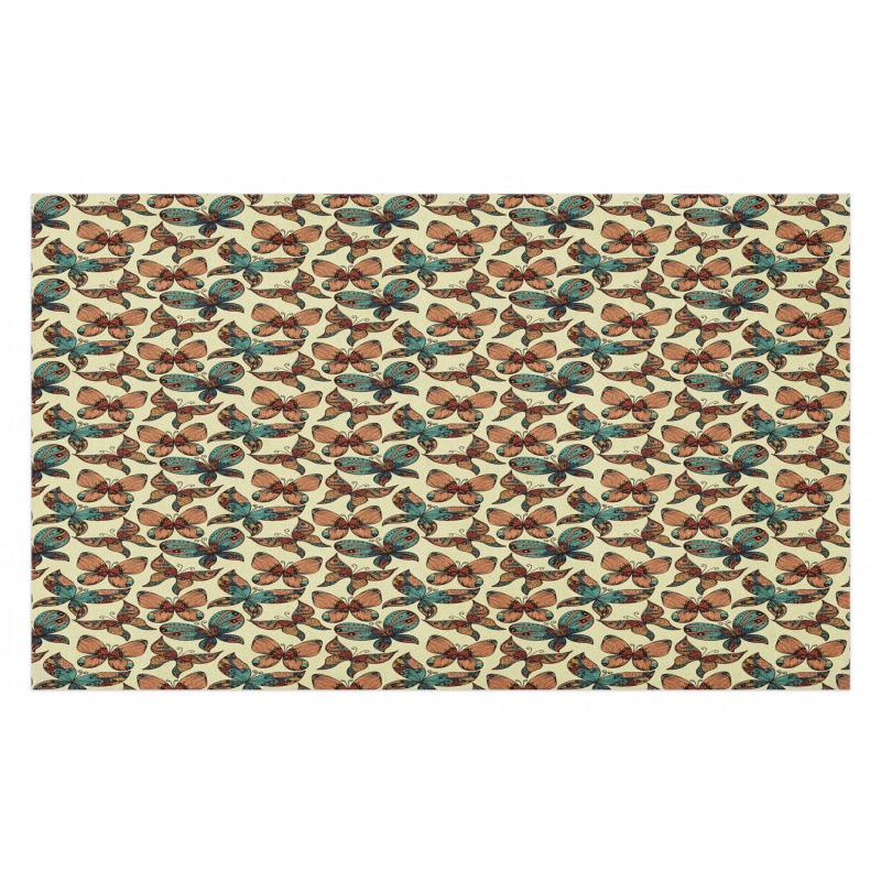 Abstract Art Wings Doormat