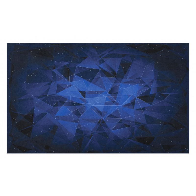 Abstract Atomic Stars Doormat