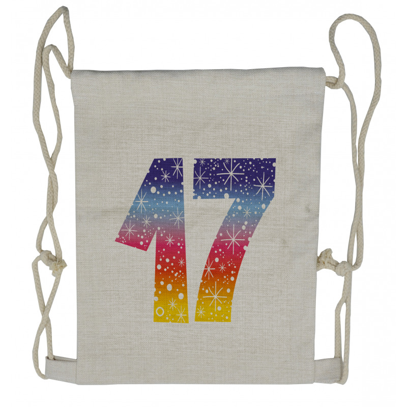 17 Party Drawstring Backpack
