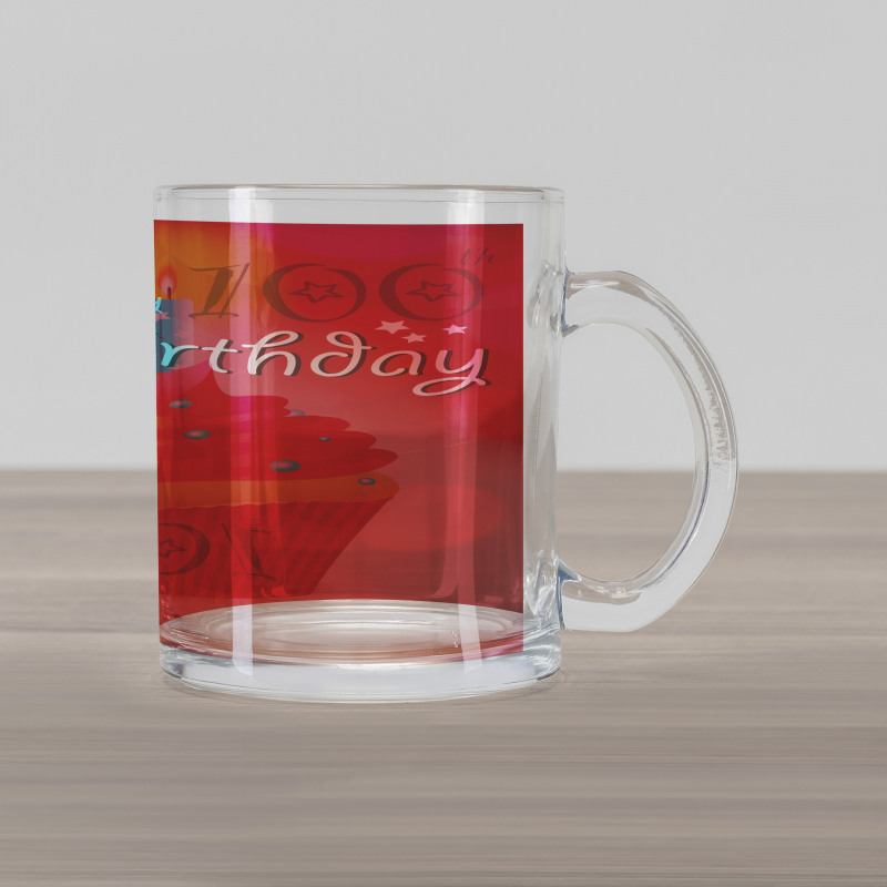 100 Old Cupcake Glass Mug