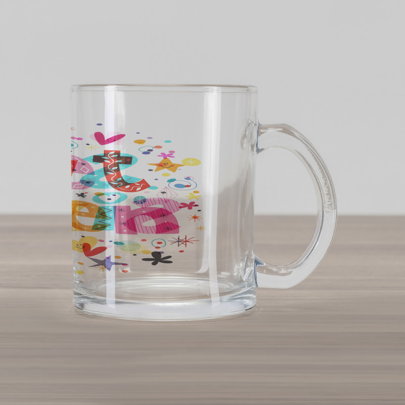 16 Blossoms Glass Mug
