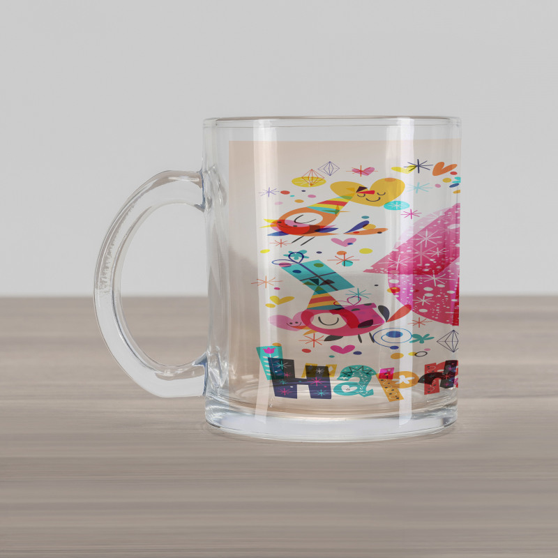 10 Years Kids Birthday Glass Mug