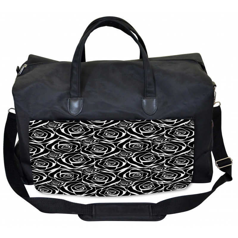Abstract Art Rose Flowers Gym Bag
