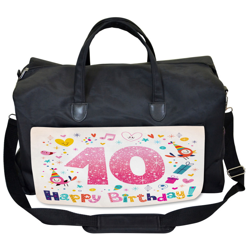 10 Years Kids Birthday Gym Bag