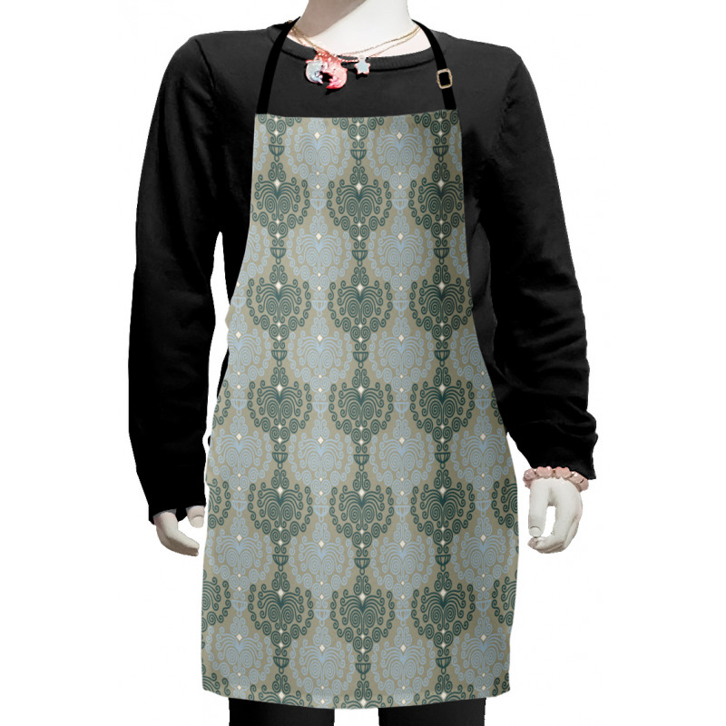 Abstract Art Floral Kids Apron