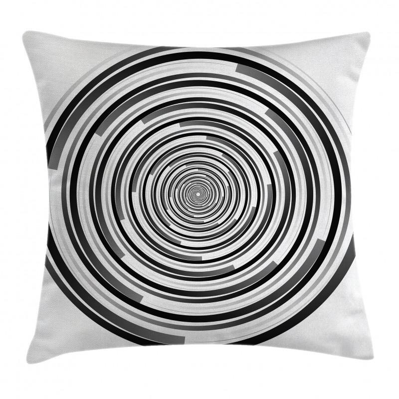 Abstract Art Spirals Pillow Cover