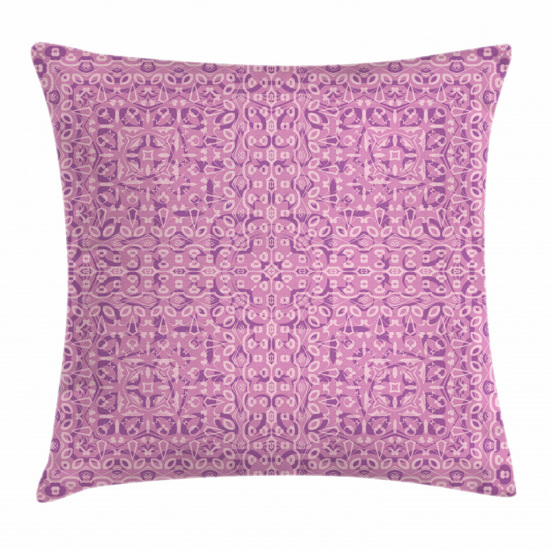 Abstract Ethnic Pillow Cover