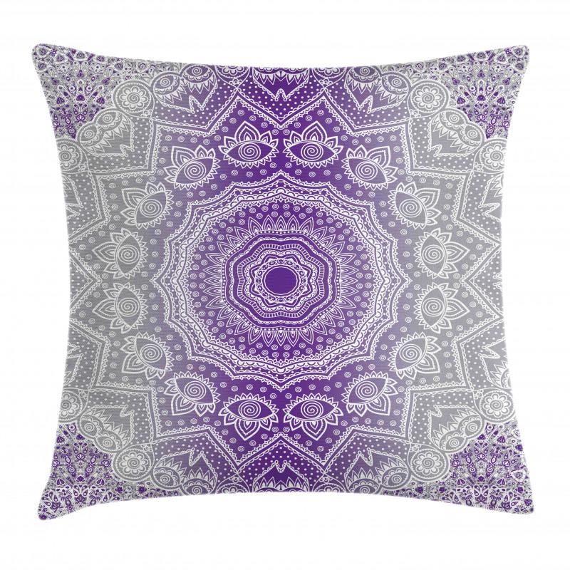 Mandala Hippie Pillow Cover