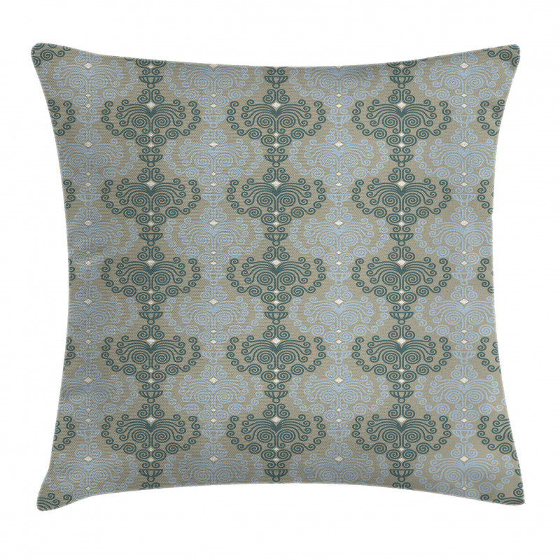 Abstract Art Floral Pillow Cover