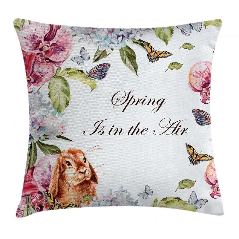 Bahar Minder Kılıfı Tavşan ve Kelebek