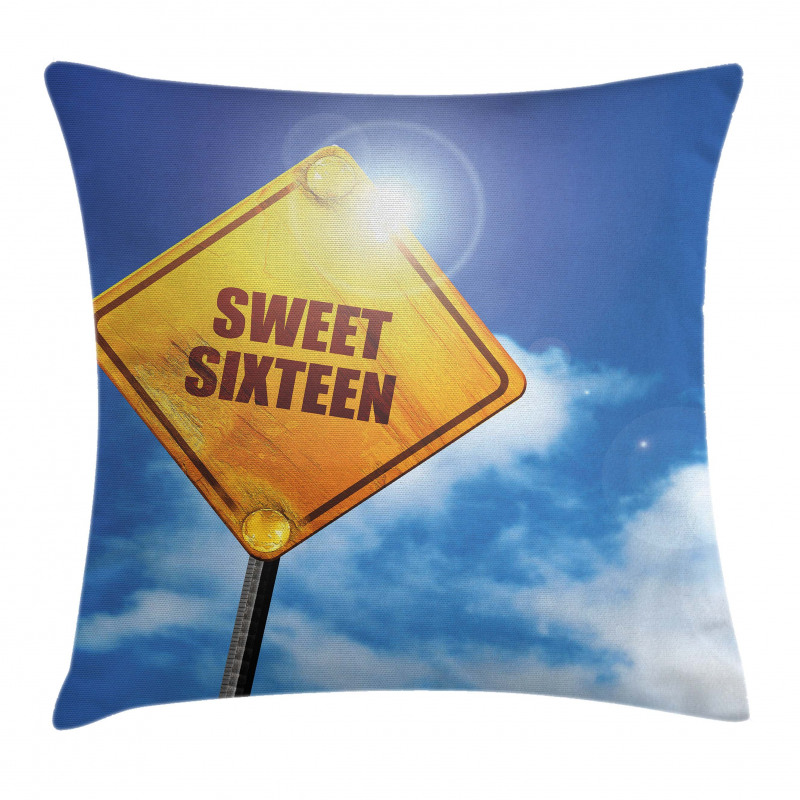 16 Road Pillow Cover