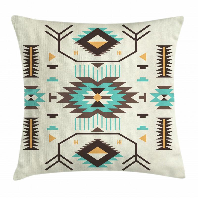 Aztec Art Pillow Cover