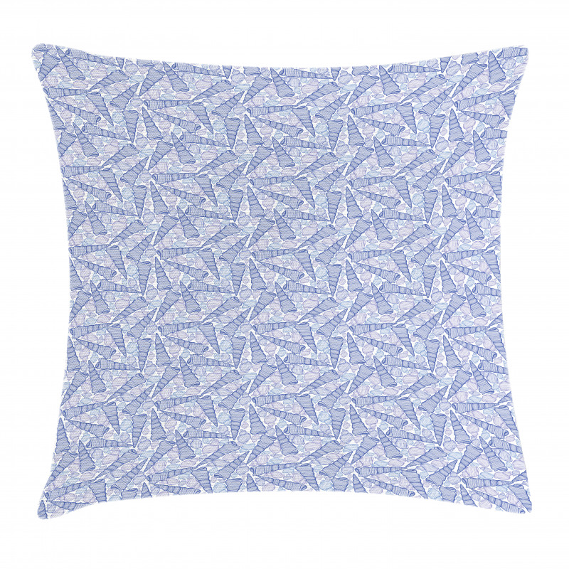 Auger and Florida Cone Pillow Cover