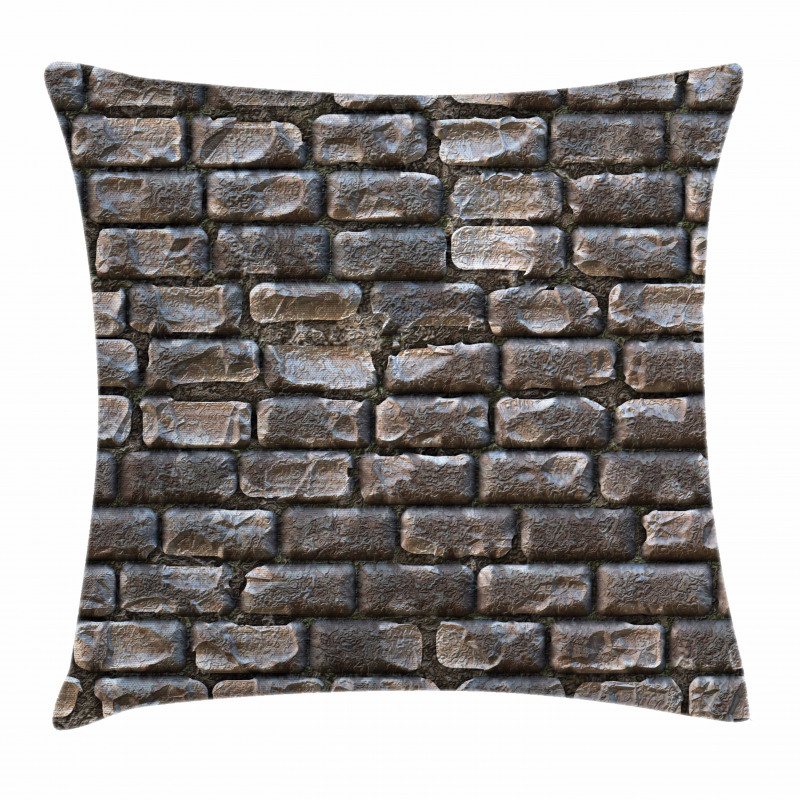 Fuliginous Tiles Pillow Cover