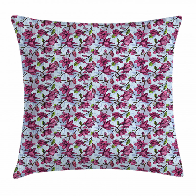 Flowering Branches Pillow Cover