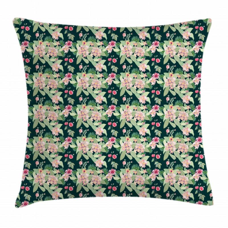 Garden Design Pillow Cover